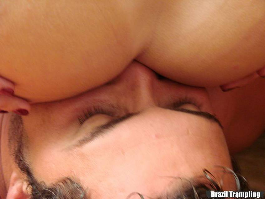 Cock trample brazil fetish for